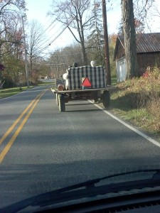 Lancaster County Tractor Couch